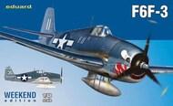 F6F-3 Aircraft (Wkd Edition Plastic Kit) #EDU84160