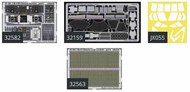 Eduard Accessories  1/35 Ch-47D Super Detail Set (Kit Not Included) EDUBIG3250