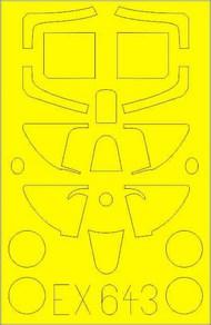 Supermarine Spitfire Mk.I masks #EDUEX643