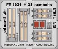 H-34 seatbelts STEEL #EDUFE1031