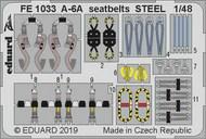 A-6A seatbelts STEEL #EDUFE1033