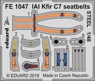 IAI C-2/C-7 Kfir seatbelts STEEL #EDUFE1047