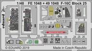 Lockheed-Martin F-16C Block 25 #EDUFE1048