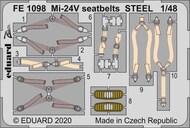 Mil Mi-24V/VP seatbelts STEEL #EDUFE1098