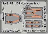 Hawker Hurricane Mk.I seatbelts STEEL #EDUFE1105