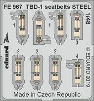 Douglas TBD-1 seatbelts STEEL #EDUFE967