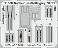Renault Rafale C seatbelts grey STEEL #EDUFE968