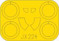 Polikarpov I-16 type 29 masks #EDUJX224