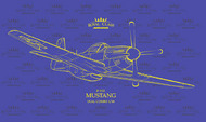 North-American P-51D Mustang Royal Class edition #EDUR0020