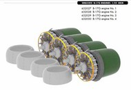 Eduard Accessories  1/32 B-17G motors (HKM) EDUSIN63202