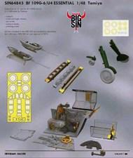 Eduard Models  1/48 Bf.109G-6/U4 ESSENTIAL (TAM) EDUSIN64845