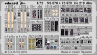 Color Zoom PE - He 219 Uhu (DRA kit) #EDUSS670