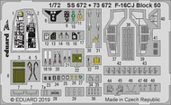 Color Zoom PE - F-16CJ Block 50 Falcon (TAM kit) #EDUSS672