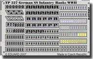 Eduard Models  1/35 German SS Infantry Ranks WWII EDUTP527