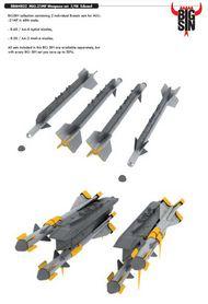 Eduard Models  1/48 MiG-21MF Weapons EDUSIN64822