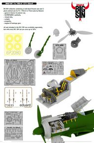 Eduard Accessories  1/72 Fw.190A-8 (EDU) EDUSIN67207