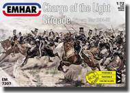 Emhar Models  1/72 Charge of the Light Brigade Crimean War 1854-56 (18 Mounted Figures & 18 Horses) EMH7207