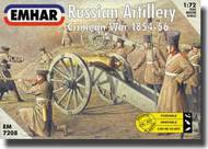 Emhar Models  1/72 Russian Artillery (27) w/3 Guns Crimean War 1854-56 EMH7208