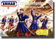 Emhar Models  1/72 French Infantry Crimean War 1854-56 & Franco Prussian War 1870-71 EMH7211
