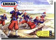 Emhar Models  1/72 Zouaves Crimean War 1854-56 & Franco Prussian War 1870-71 EMH7212