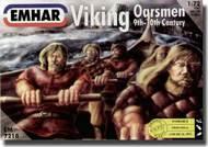 Emhar Models  1/72 Viking Oarsmen 9th-10th Century (32 Sitting & 10 Standing) EMH7218
