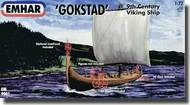 Emhar Models  1/72 Gokstad 9th Century Viking Ship EMH9001