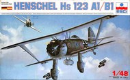 Henschel Hs.123A-1 #ESC4001