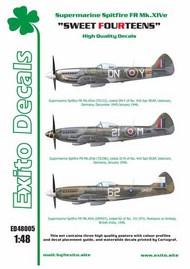 'Sweet Fourteens' - Supermarine Spitfire Mk. XIVe #EXED48005