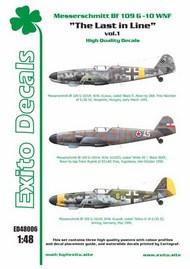 The Last in Line vol.1 - Messerschmitt Bf.109G-10 WNF #EXED48006