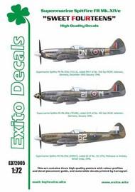 'Sweet Fourteens' - Supermarine Spitfire Mk. XIVe #EXED72005