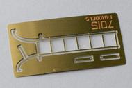 F4 Models  1/72 Vought F7U-3 Cutlass Boarding Ladder (designed to be used with Fujimi kits)[F7U-3P F7U-3M] F4M7015