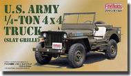 Fine Molds Models  1/20 U.S. Army 1/4 Ton 4x4 Truck (Slat Grill) FNM82001