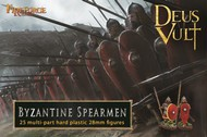 Fireforge Games  28mm Deus Vult Byzantine Spearmen (25) FIFG13