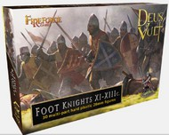Fireforge Games  28mm Deus Vult Foot Knights XI-XIIIc (30) FIFG15