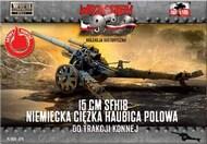 WWII 15cm sFH18 German Heavy Field Howitzer #FRF79