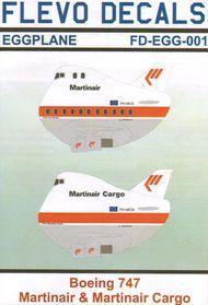 Flevo Decals  Unknown Boeing 747 Eggplane Martinair FDEGG001