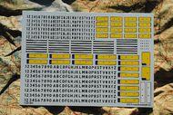Flevo Decals  1/24 Dutch Licence Plates '1951-1978' FV24003