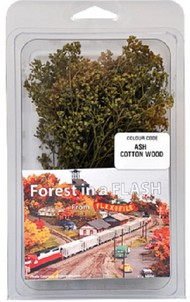 Forest in a Flash: Ash Cotton Wood Trees #FXF9003