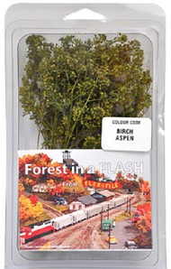 Forest in a Flash: Birch Aspen Trees #FXF9004