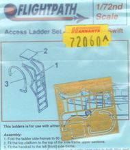 Flightpath UK  1/72 Supermarine Swift FR.5 access ladder (designed to be used with Airfix and Xtrakits) FHP72060A