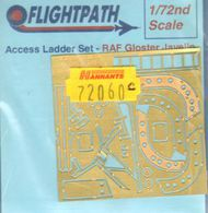Flightpath UK  1/72 Gloster Javelin T.3/FAW.9/FAW.9R access ladder. (designed to be used with Airfix and Heller kits) FHP72060C