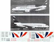 Flightpath USA  1/200 Boeing 737-200/727-500 EURALAIR FPA20172