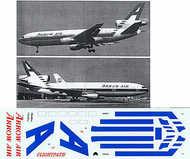 Flightpath USA  1/200 McDonnell-Douglas DC-10 ARROW AIR Light Blue stripes N902CL . FPA20197