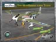 "Flight Wing  1/18  WWII USAF 355th Fighter Group ""The Hun Hunter FM Texas"" FLT-FW001C"