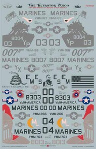 US Marine Corps MV-22B Osprey 'The Tiltrotor Tango' #FL48025
