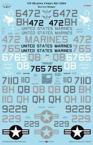 US Marine Corps KC-130J Hercules 'Battle Hercs' #FL72001