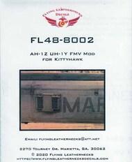 Flying Leathernecks  1/35 AH-1Z Viper Cobra UH-1Y Venom FMV Mod (KTH kit) ORDFL488002