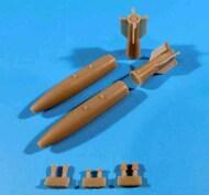 Mk.83 1000lb Bombs with BSU-85 Fins M904 Nose Fuze Mk.43 TDD MXU-735 Nose Plug Set (2 bombs) #ORDFL488005