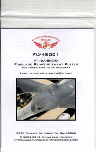 Flying Leathernecks  1/48 Orion  Fuselage Reinforcement Plates (HAS/ACA kit) #V48001H ORDV48001H
