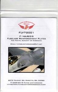 Flying Leathernecks  1/72 Orion  Fuselage Reinforcement Plates #V72001 ORDV72001